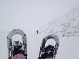 <h5>Februar: Sabine in Österreich</h5><p>Schneeschuh laufen bzw. in die Luft heben in Österreich</p>