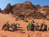 <h5>September: Petra in Jordanien</h5><p>Im ältesten Wüstencamp Jordaniens in Wadi Rum</p>
