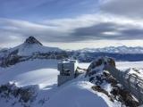 <h5>Dezember: Sabine in Gstaad</h5><p>PeakWalk by Tissot auf dem Glacier3000</p>