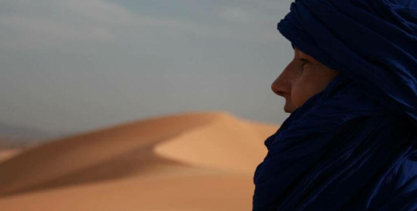 Mit Touareg unterwegs in der algerischen Wüste