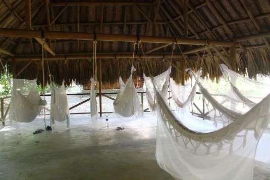 Das Hängematten-Hotel im Dschungel Kolumbiens