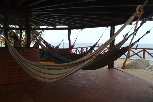 Hängematten Hotel Cabo San Juan Tayrona