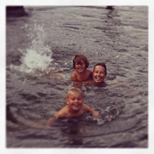 Spass im Wasser