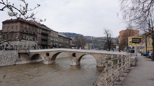 Sarajevo - Lateinerbrücke