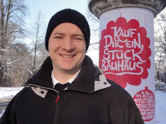 Thomas Apel, Bauhaus-Student