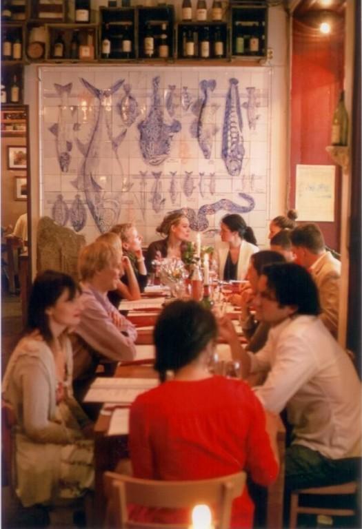 Chez Maurice Lecker französisch Tafeln