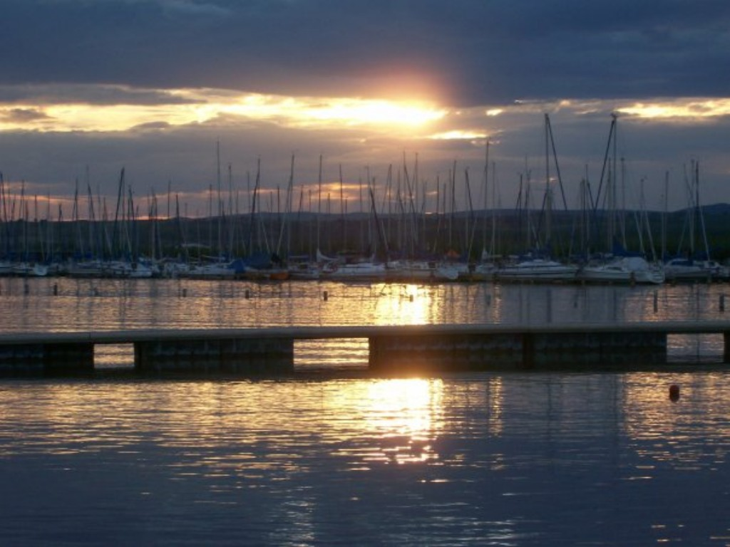 Abends am Neusiedler See