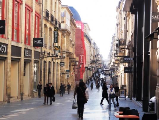 Rue Sainte Catherine, die längste Fussgängerstrasse Europas