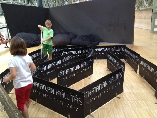 Das Labyrinth vom Blindenmuseum