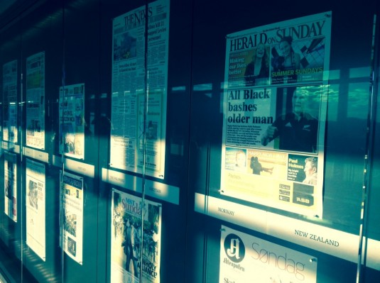 Washington Newseum_Frontpages