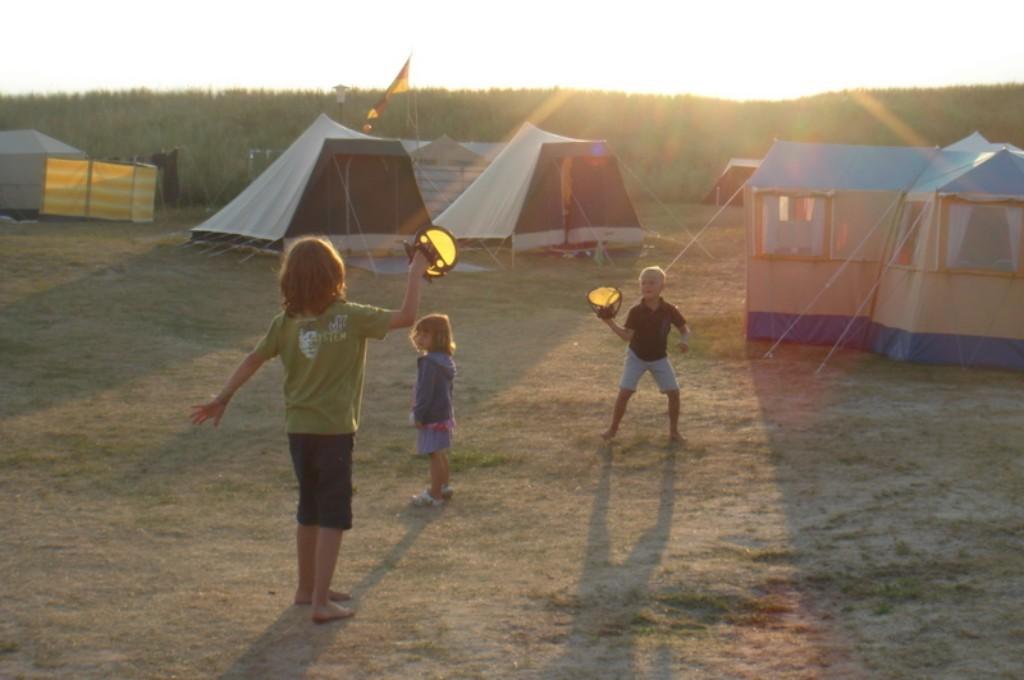 Zelten auf Spiekeroog Travelista Sabine hat's ausprobiert