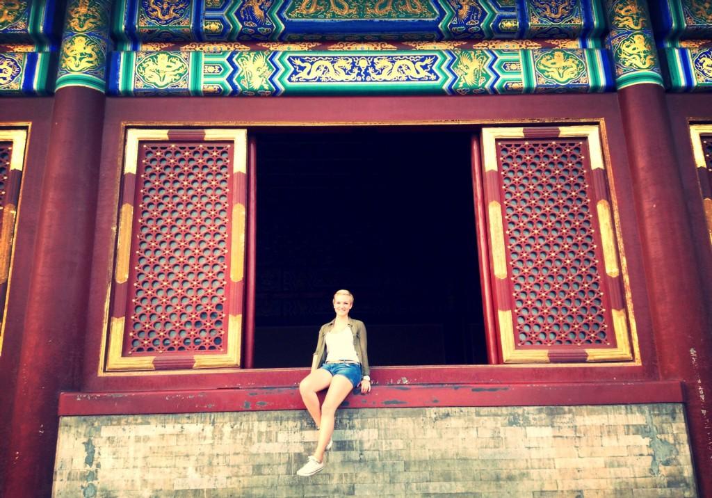 Anna @ Temple of Heaven