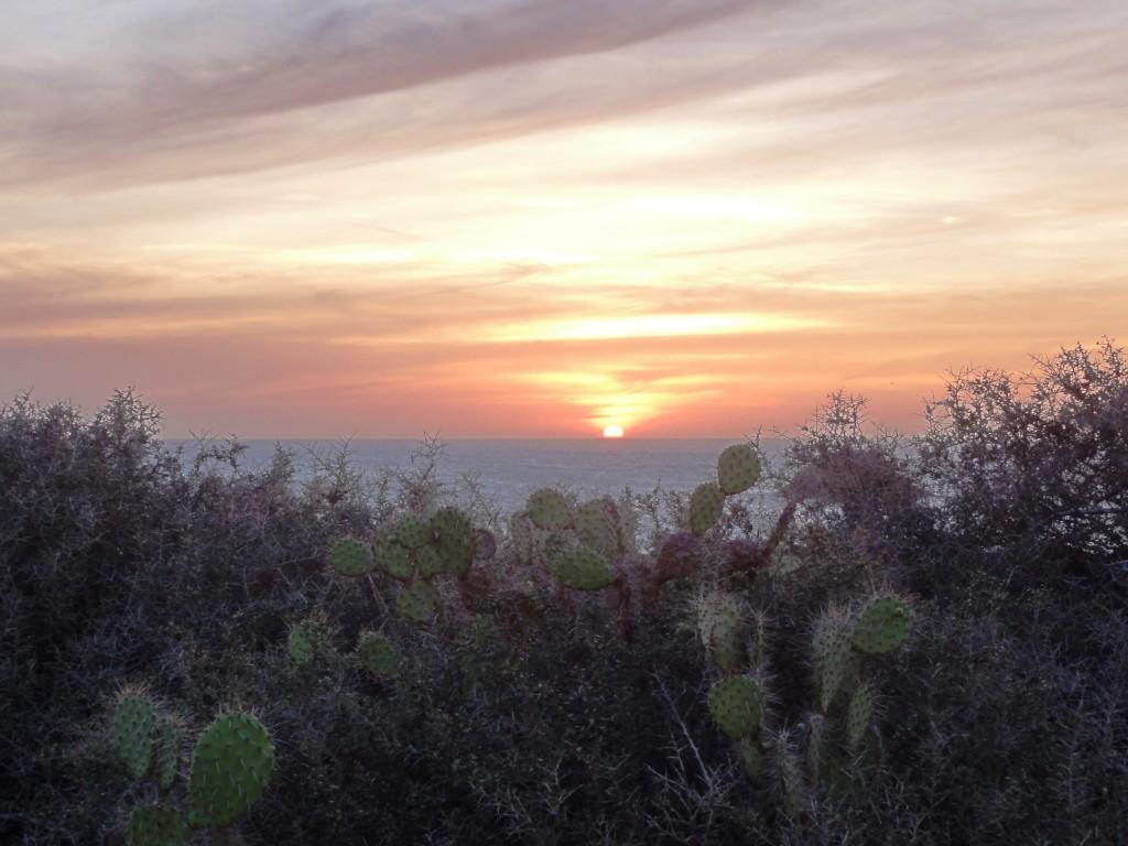 La Guajira Sonnenuntergang
