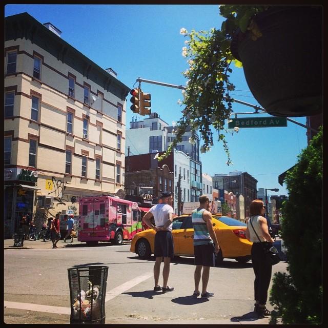 Instagram/@dannydriscoll Bedford Avenue Williamsburg