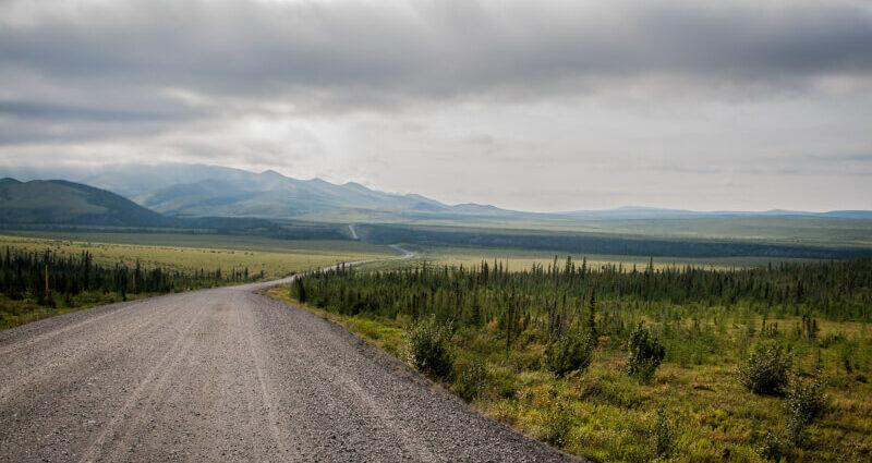 Dempster Highway: Die grosse, einsame Wildnisstrasse im Yukon