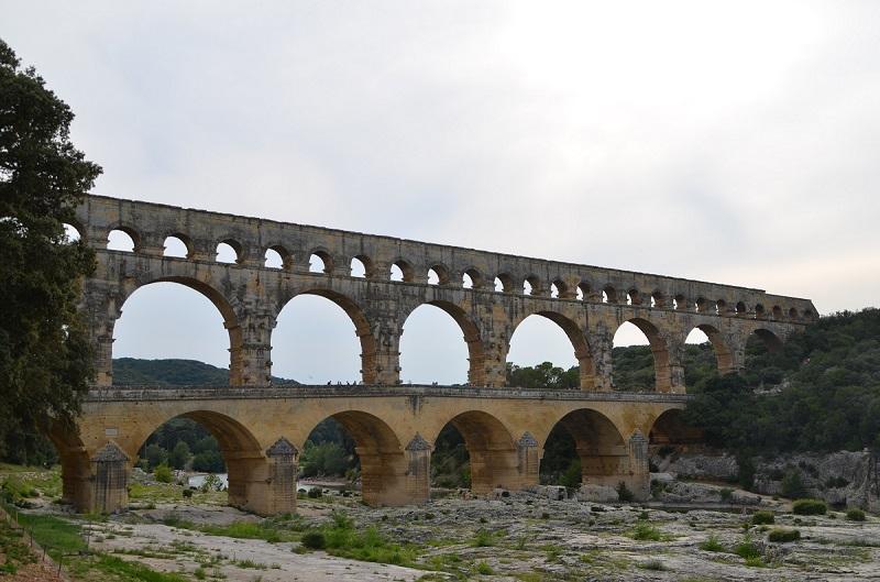 Der Pont du Gard: Ein einmaliges Relikt aus der Römerzeit.