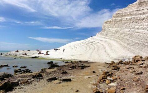 Scala dei Turchi – die weisse Treppe ins Meer