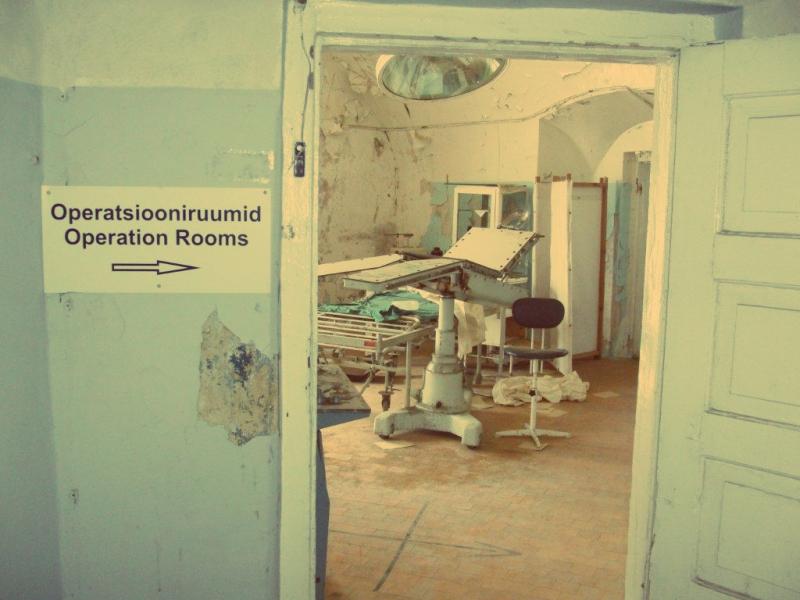 Der ehemalige OP-Saal