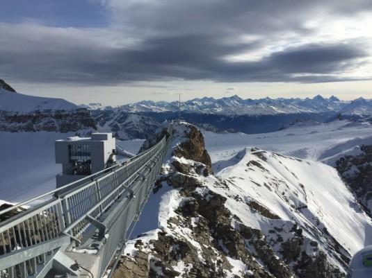 Tolle Aussicht auf die Berge