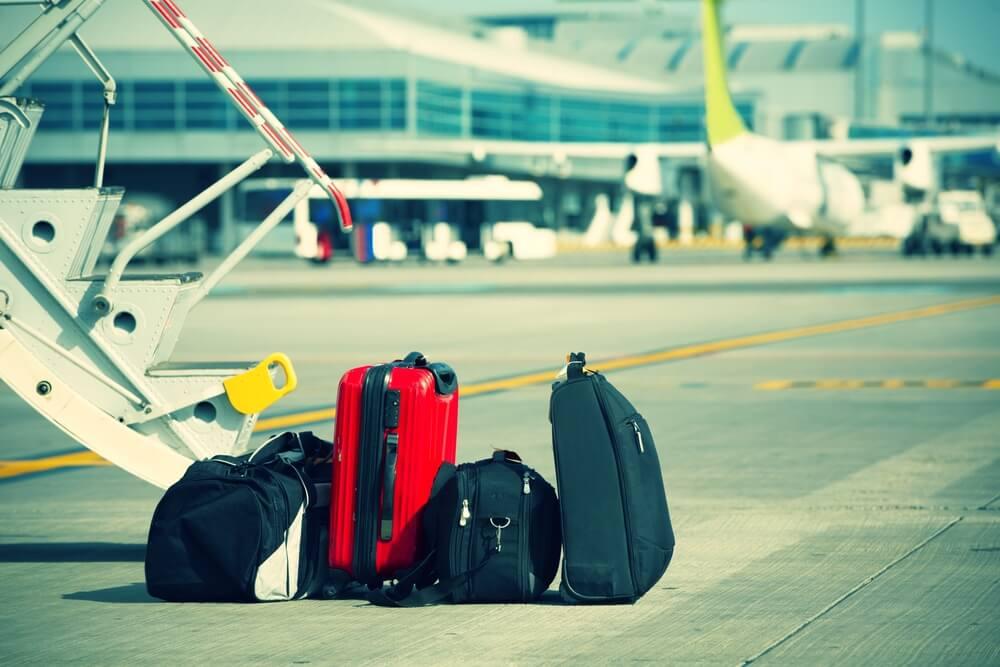 Ihre Koffer werden gerade wieder ausgeladen