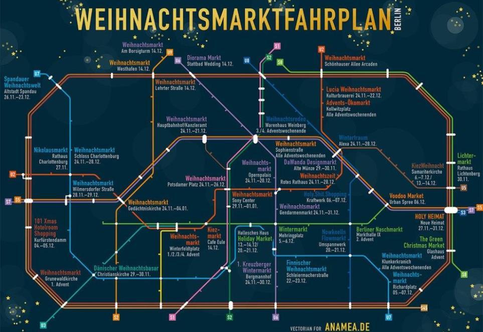 Weihnachtsmarktplan Berlin