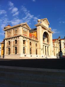 Alter Bahnhofsteil Nizza