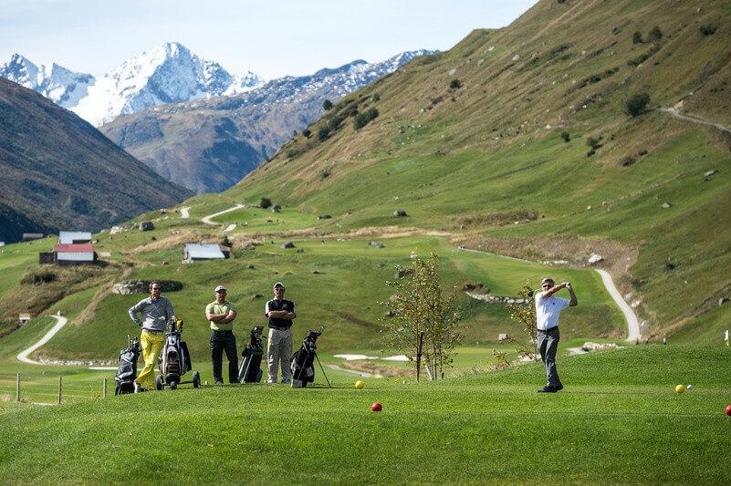 Top-Spots für Golfer
