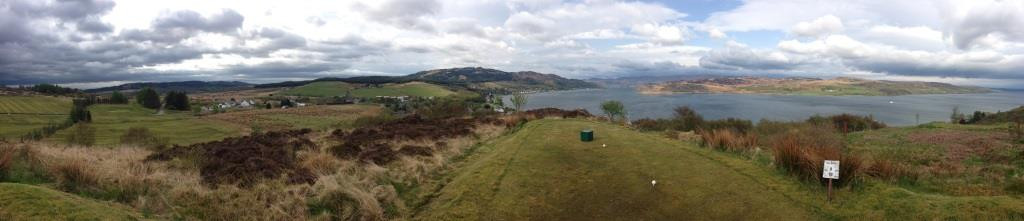 Golf, Schottland - Panorama