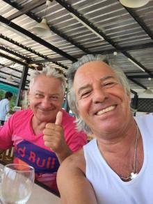 Kennen sich schon lange: Luciano und Gianni