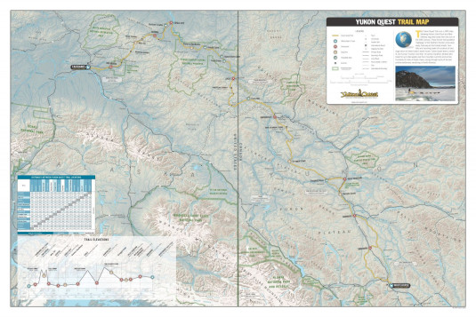 030 Yukon Quest - Trail Map