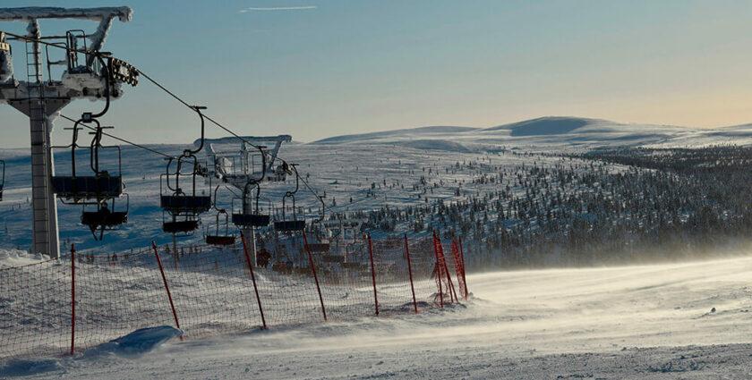 Pistencheck in Finnisch Lappland