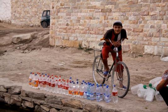 Wasserverkäufer