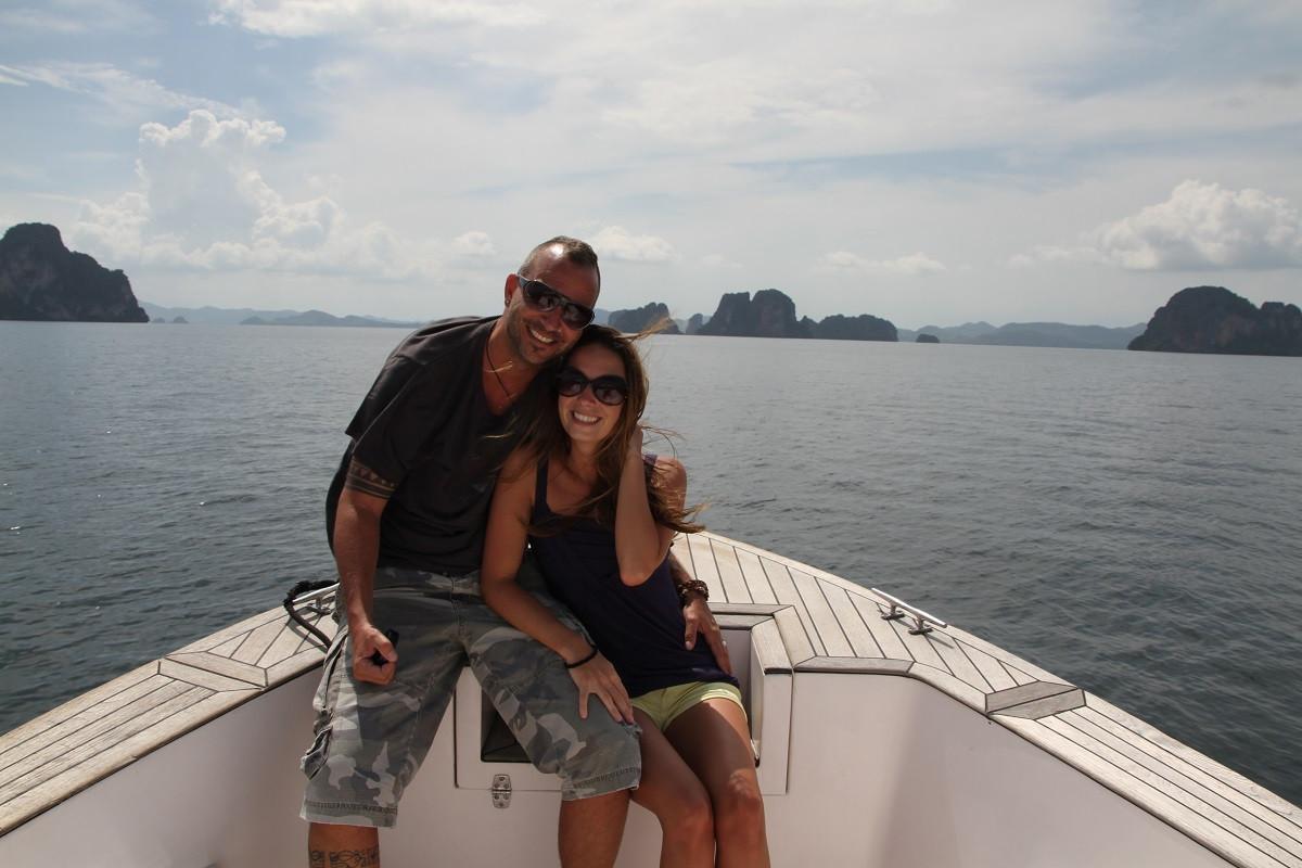 Simon Schnellmann mit seiner Frau Jenny