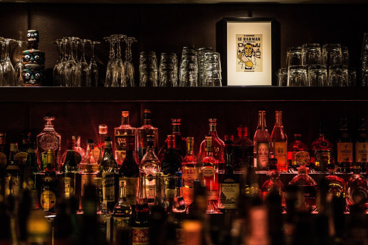 Die L-Bar hält eine große Auswahl an Cocktails bereit