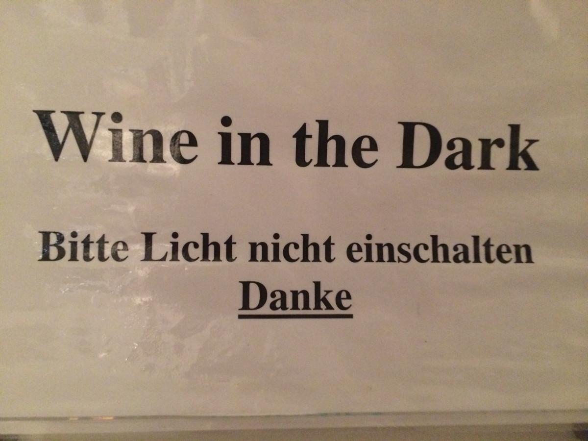 Blinde Kuh für Weinliebhaber