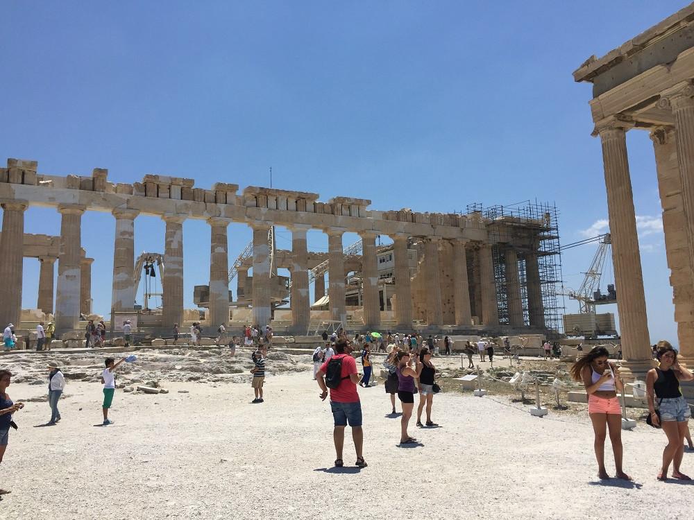 Zu Besuch bei den griechischen Göttern