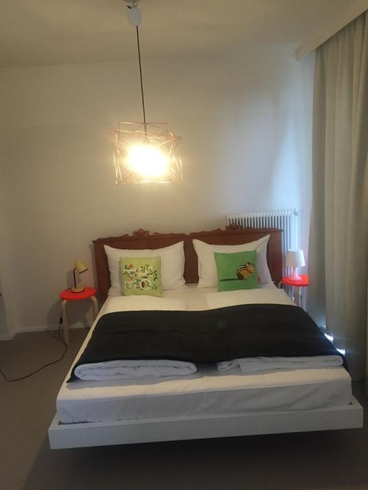 Es gibt drei Zimmerkategorien – Preisspanne zwischen 63 und 85 Euro