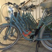 Retro-Bike-Flotte für Wien-Touren