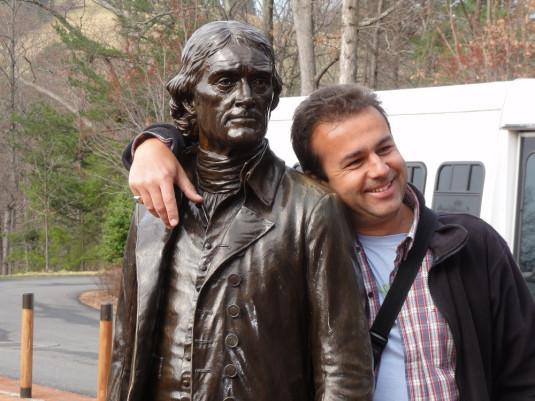 Tomi mit Jefferson