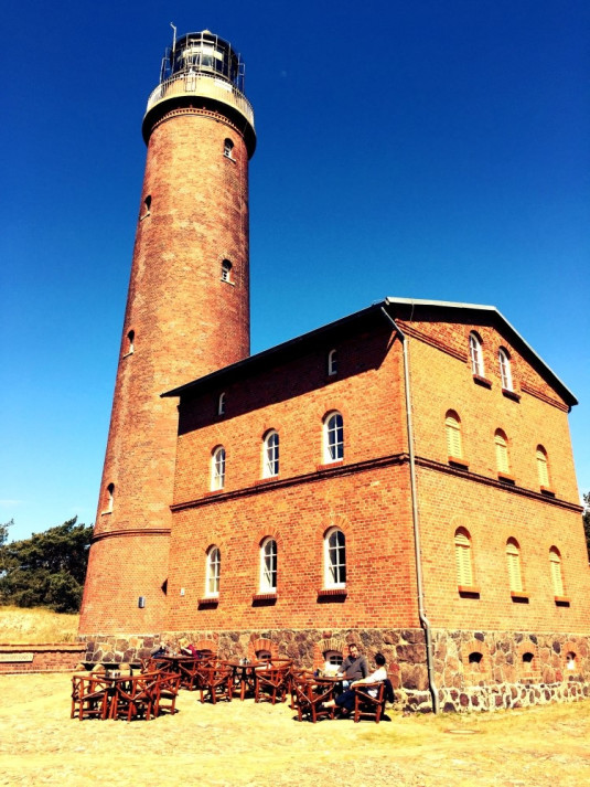 Der Darßer Leuchtturm in Prerow