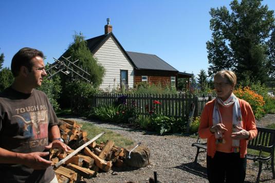 Zu Besuch bei einer der Quilt-Koriphäen der USA, Jane Quinn von Quilting in the Country