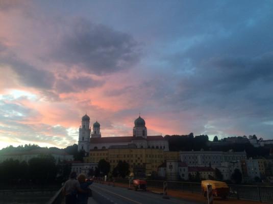 Altstadtkulisse mit Blick von der Innstadt