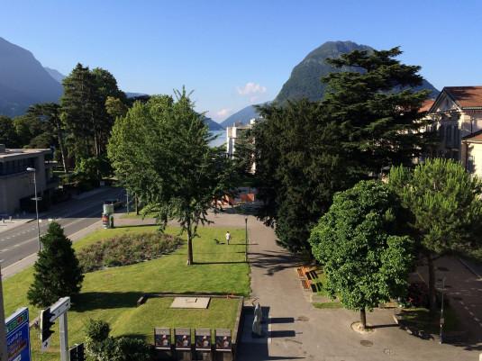 Aussicht vom Hotel