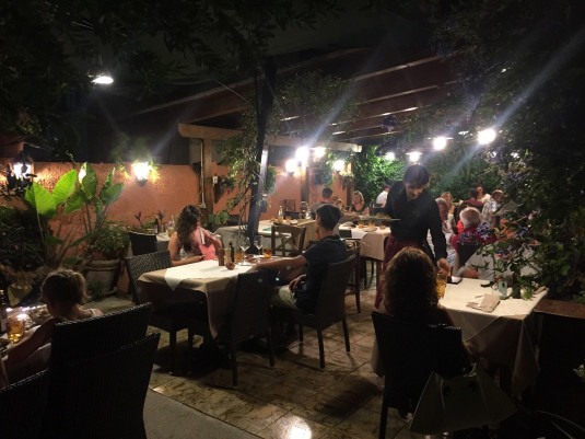 Das Restaurant La Botte Gaia
