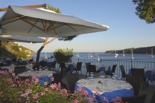 Das Restaurant La Caletta