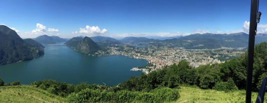 Aussicht vom Monte Brè