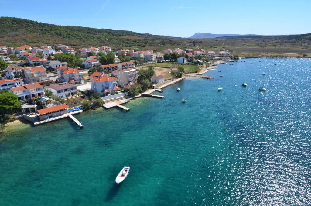 Istrien und Dalmatien aus der Vogelperspektive