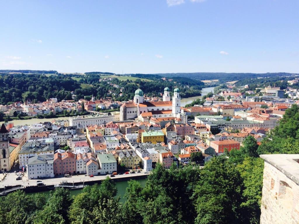 Kleine Stadt der Superlative: Passau