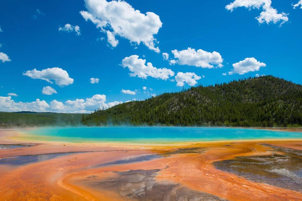 Es brodelt und zischt im Yellowstone