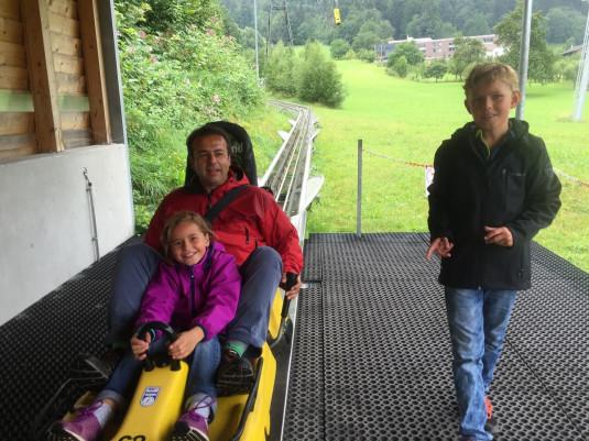 Hier bin ich im Alpine Coaster